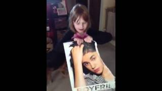 Olivia ripping up Beiber