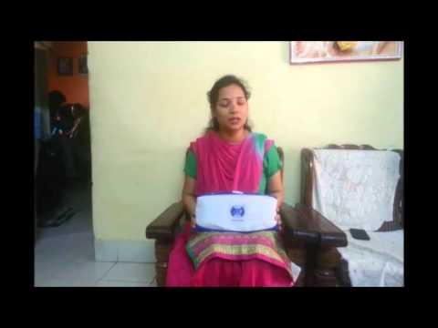 slimming massage belt jsb hf10 video review
