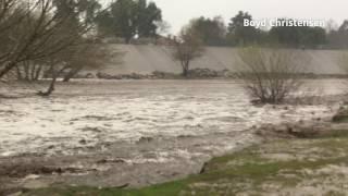 Storm swells rivers, creeks in Santa Clarita