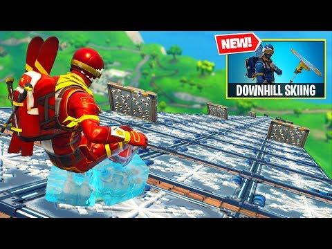 NEW DOWNHILL SKIING Custom Gamemode In Fortnite