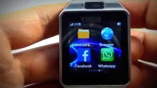 NUEVO Smartwatch DZ09 2.1 con Whatsapp, facebook y Twitter 2016