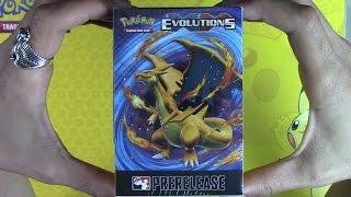 XY Evolutions Prerelease kit opening! Pokemon TCG unboxing