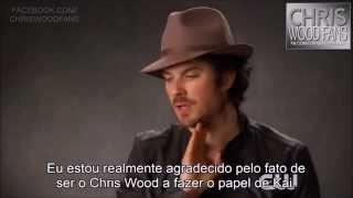 TVD Inside: Ian Somerhalder fala sobre Chris Wood, Kai e Damon.