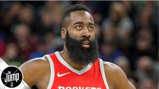 James Harden gets trolled by LA Galaxy after buying stake in MLS team | The Jump