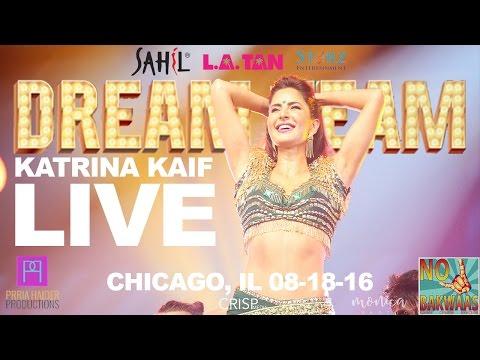 Katrina kaif live in Chicago DREAM TEAM 2016