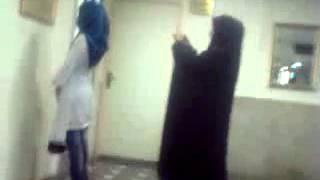 فیلمی از رفتار افراد گشت ارشاد تهران پل گیشا2