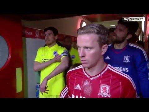 Xxx Mp4 Middlesbrough 1 1 Brighton Boro Hold 10 Man Seagulls To Seal Promotion To The Premier League 3gp Sex