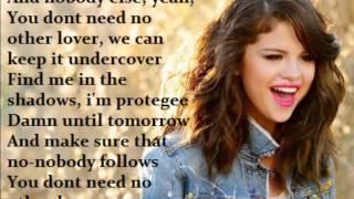 Selena Gomez - Undercover (LYRICS ON SCREEN!)