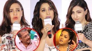 EMOTIONAL Neha Dhupia, Soha Ali Khan, Sophie Choudry SLAM Nana Patekar & Support Tanushree