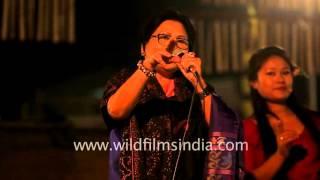 Manipuri Pastoral song  (Men courting beloveds)