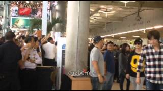 [FANCAM] 121124 SJ SNSD SHINEE F(X) EXO AT SUVARNABHUMI AIRPORT
