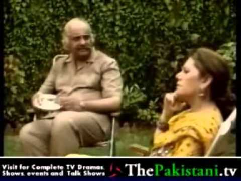 Nadan nadian very funny clip 3 being questioned by Manteen. (Babra Sharif)