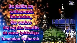 Danish Language Ramadan  Mubarak  Ramazan  Mubarak greetings Whatsapp download