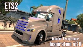 ETS2 v1.24 ★ Daimler Freightliner Inspiration v3.0 ★ Mod Vorstellung [Deutsch/HD]