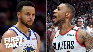 Damian Lillard is the closest player to Steph Curry in the NBA - Max Kellerman   First Take