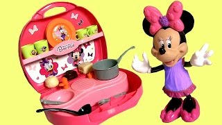Minnie's Mini Kitchen Play Doh Disney Minnie Mouse Bowtique Bow-Toons Cuisine Cucina Kuche