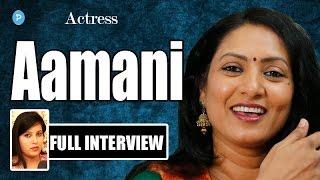 Actress Aamani Exclusive Interview || Telugu Popular TV