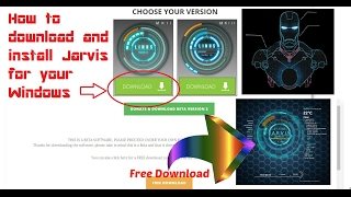How to Download and install Jarvis Mark II in windows