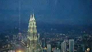 Night View From KL Tower  2