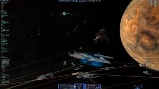 Star Trek Armada 3 mod for Sins of a Solar Empire  Rebellion (4k Footage)