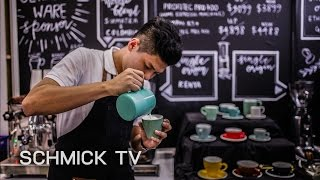 Latte Art with Singapore LAC Finalist 2015, Shawn Saw