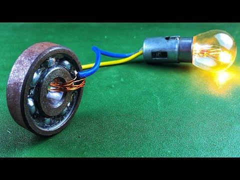 Xxx Mp4 Electric 2019 Free Energy Generator 100 Self Running With DC Motor Using Wheel 3gp Sex