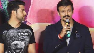 Reporter INSULTS Vivek Oberoi At Great Grand Masti Trailer Launch