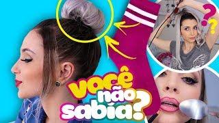 12 TRUQUES DE BELEZA QUE TODA GAROTA PRECISA SABER