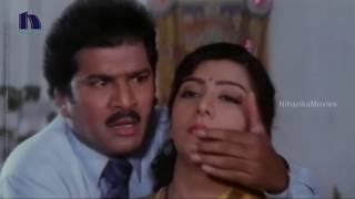 రాజేంద్ర ప్రసాద్ పనిమనిషితో పిచ్చి పిచ్చిగా రొమాన్స్ || Rajendra Prasad Romance With Maid
