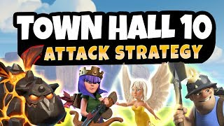 Clash of Clans: BEAST ATTACKS TO DESTROY TOWN HALL 10
