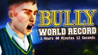 BULLY SPEEDRUN! - Former World Record (Real Time: 2h 37m 39s/In-Game Time: 2h 40m 12s)