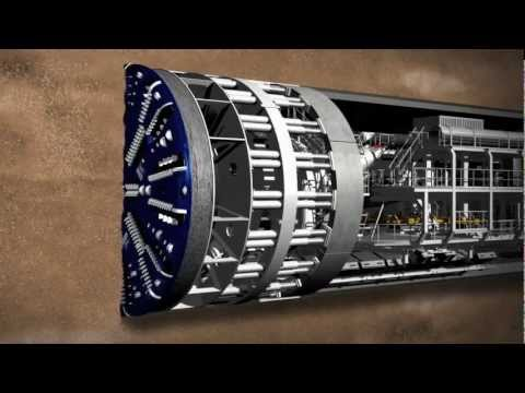 Meet Crossrail s giant tunnelling machines