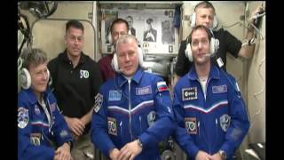 Expedition 50-51 Welcomed Aboard the Space Station