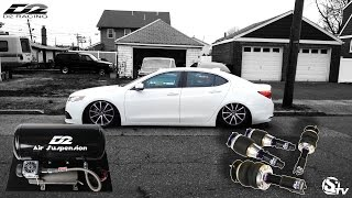 How To install Air Suspension on a 2015 Acura TLX