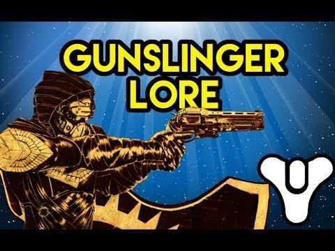 Destiny Lore Gunslinger Myelin Games