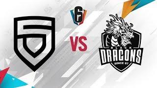 Rainbow Six - Six Invitational 2018 - PENTA Sports vs. Black Dragons - Day 5