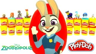 Zootropolis Hayvanlar Şehri Judy Hopps Sürpriz Yumurta Oyun Hamuru - Disney Oyuncackları LPS MLP