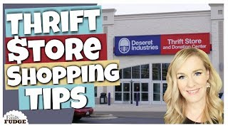 SHOP the THRIFT STORE Like a PRO || 10 Tips on THRIFT Store Shopping