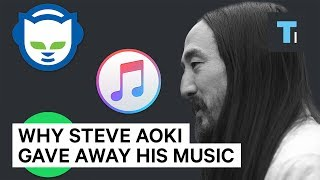How DJ Steve Aoki built an empire by giving away his music