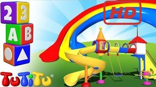 School for Kids   TuTiTu Preschool   Learning Colors for Babies and Toddlers   Playground