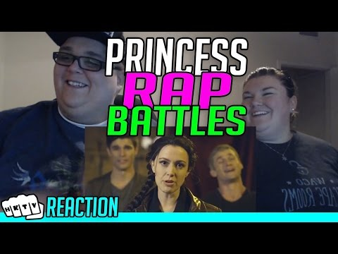 KATNISS v HERMIONE PRINCESS RAP BATTLE REACTION!!🔥