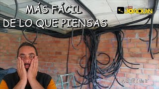 INSTALACIÓN ELÉCTRICA DE UNA CASA PASO A PASO