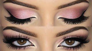♡ All PINK Doll Makeup Look ♡ Valentine's Day Inspiration   Melissa Samways ♡