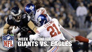 Giants vs. Eagles | Week 6 Highlights | NFL