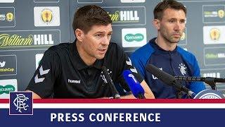 PRESS CONFERENCE   Gerrard & McAuley   17 Jan 2019