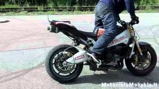 Best Stunt Riding Skills from Stunt Rider with Kawasaki Britva (reverse)
