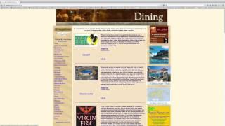 Website for Restaurants