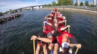 Dragon Zone Blazing Paddles - Rio Tinto Alcan Dragon Boat Festival 2015