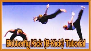 Butterfly Kick Tutorial (B-Kick) | GNT How to
