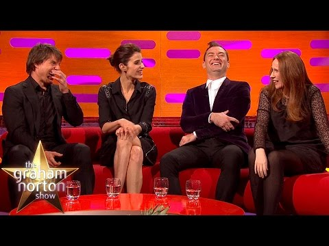 Catherine Tate Shows Off Her Potty Mouth to Tom Cruise The Graham Norton Show
